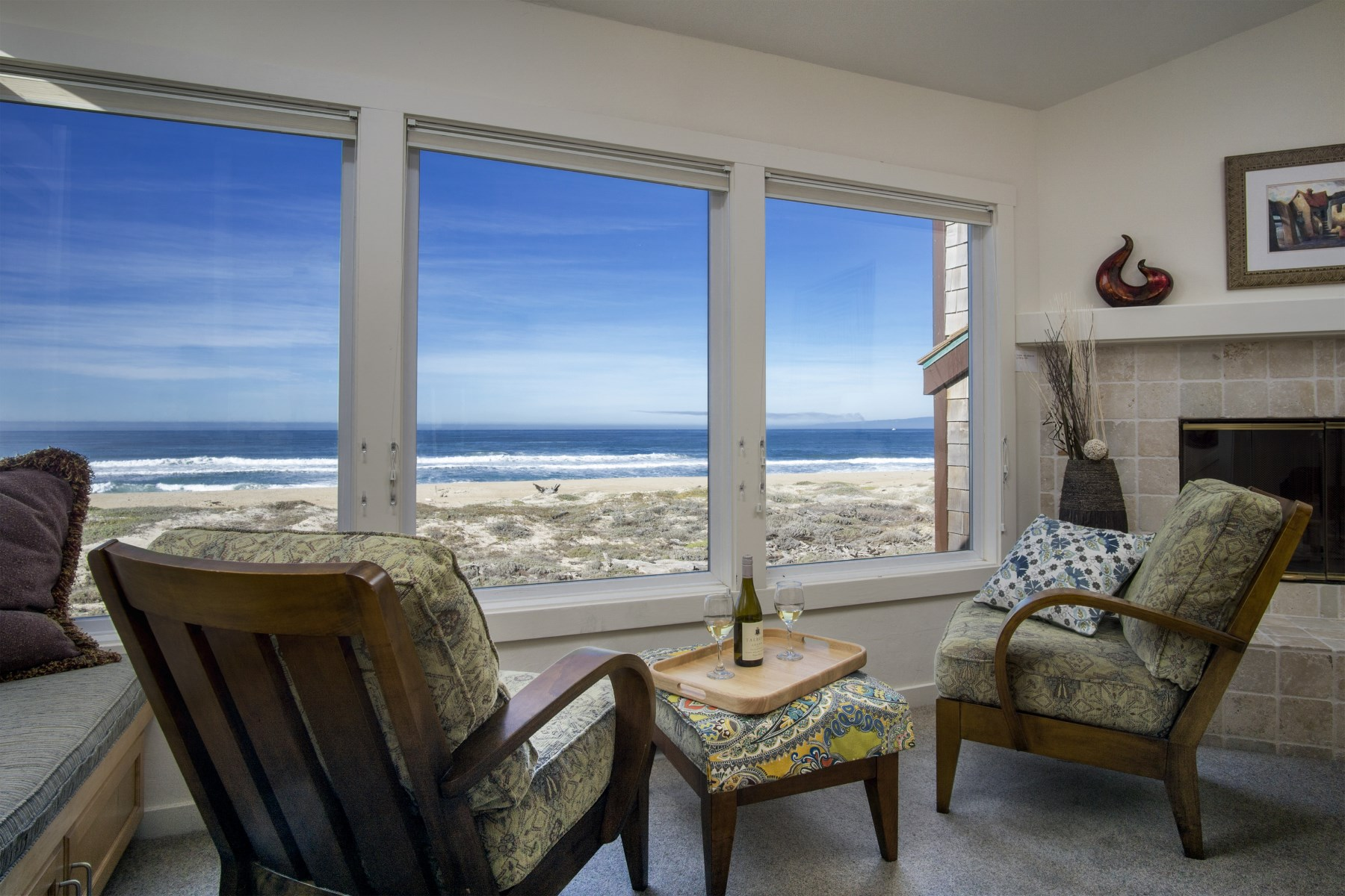 Single Family Home for Sale at Beach House Oceanfront 226 Monterey Dunes Way Moss Landing, California 95039 United States