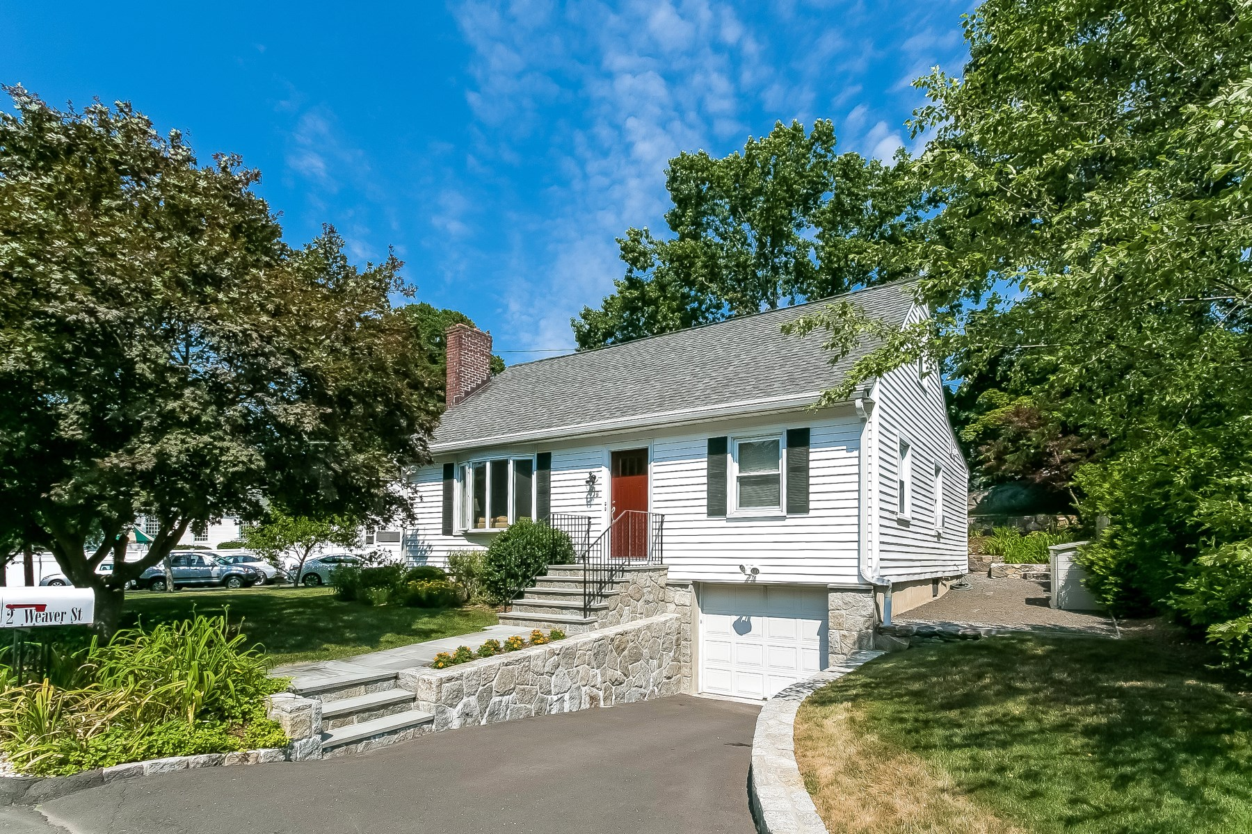 Single Family Home for Sale at Picture Perfect Cape 2 Weaver Street Greenwich, Connecticut, 06831 United States