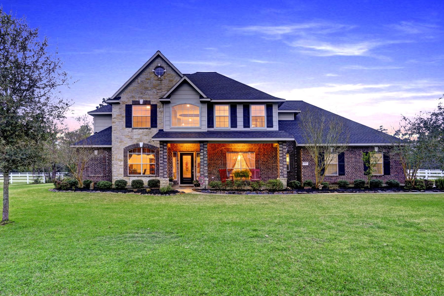 Single Family Home for Sale at 11802 Rainy Oaks Drive Magnolia, Texas 77354 United States