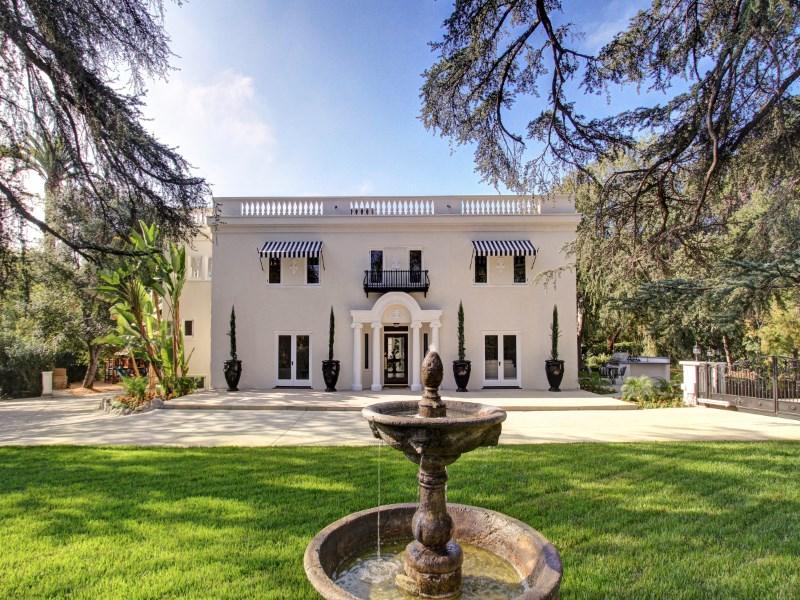 Tek Ailelik Ev için Satış at Stunning Italian Revival 1150 South El Molino Avenue Pasadena, Kaliforniya 91106 Amerika Birleşik Devletleri