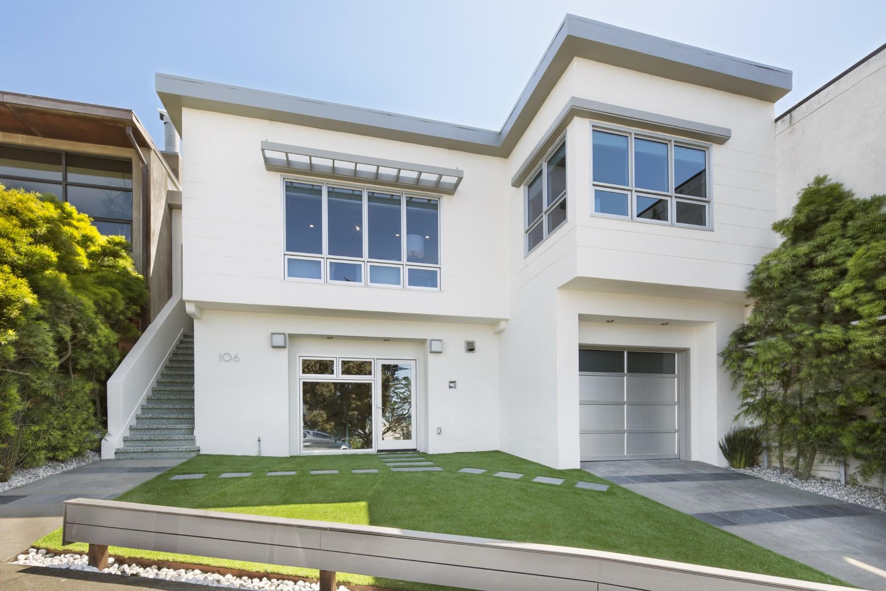 獨棟家庭住宅 為 出售 在 106 Collins 106 Collins St Laurel Heights, San Francisco, 加利福尼亞州, 94118 美國