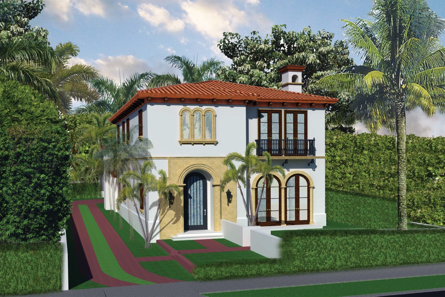 Maison unifamiliale pour l Vente à Palm Beach Chic In Town New Construction 444 Chilean Ave Palm Beach, Florida, 33480 États-Unis