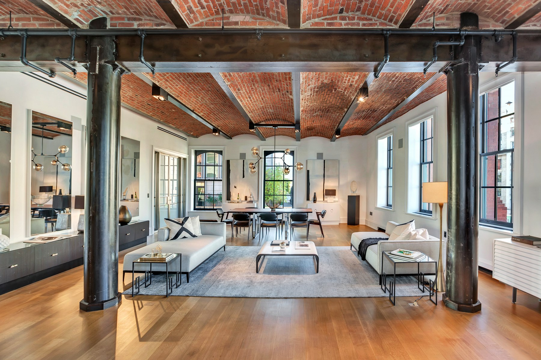 Single Family Home for Sale at Loft Extraordinaire in Puck PH SoHo 293 Lafayette Street 6 Soho, New York, New York 10012 United States