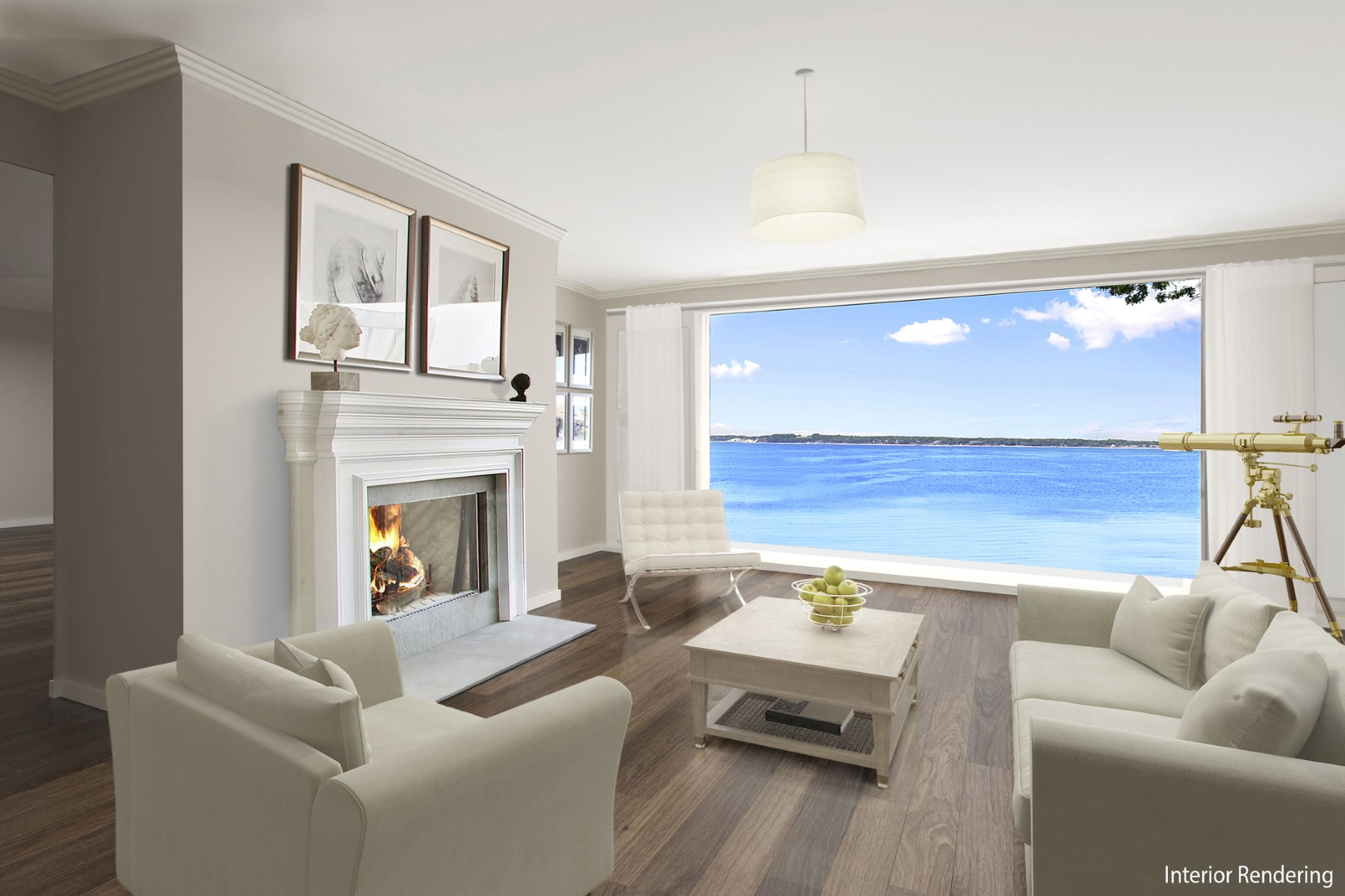 Casa para uma família para Venda às New Construction on the Water 3605 Noyac Rd Sag Harbor, Nova York 11963 Estados Unidos