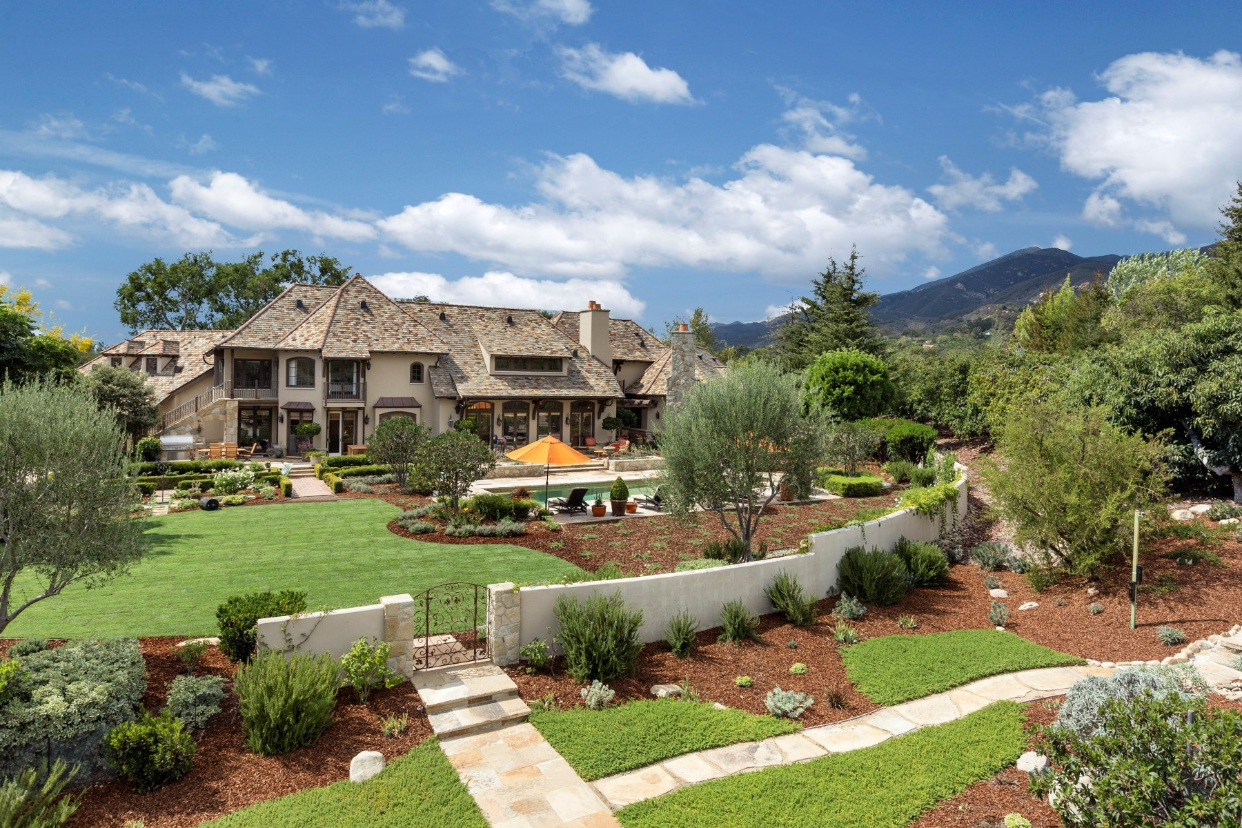 sales property at Montecito French Country Home