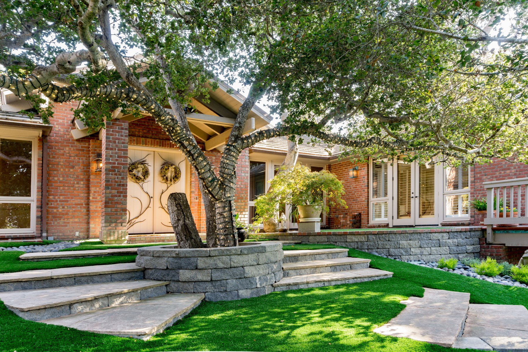 Single Family Home for Sale at Elegant and Private 1102 Alta Mesa Road Monterey, California, 93940 United States