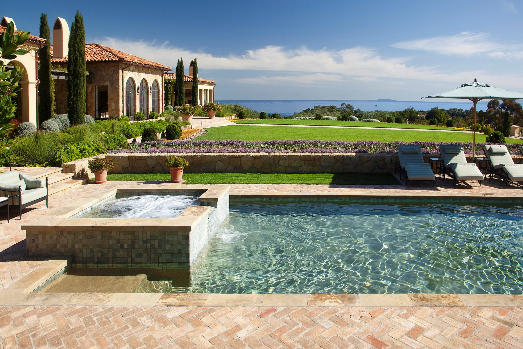 Single Family Home for Active at Cima Del Mundo Estate 815 Cima Del Mundo Montecito, California 93108 United States