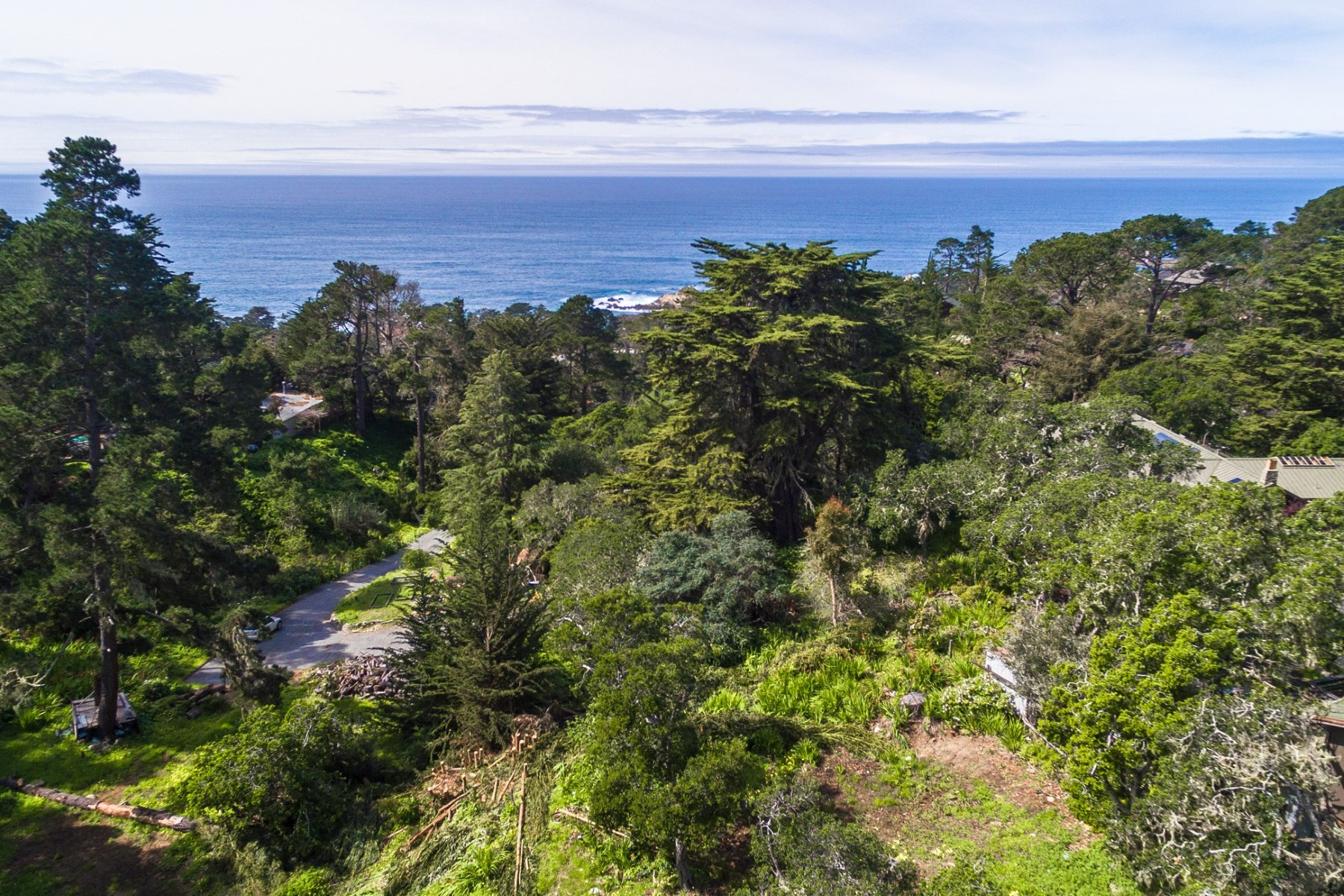 Land for Sale at Two Vacant Lots in Carmel Highlands 184 San Remo Road Carmel Highlands, California 93923 United States