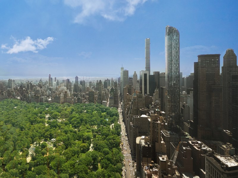 Appartement en copropriété pour l Vente à 80 Columbus Circle, Apartment 75C/75E 80 Columbus Circle Apt 75c/75e Upper West Side, New York, New York 10023 États-Unis