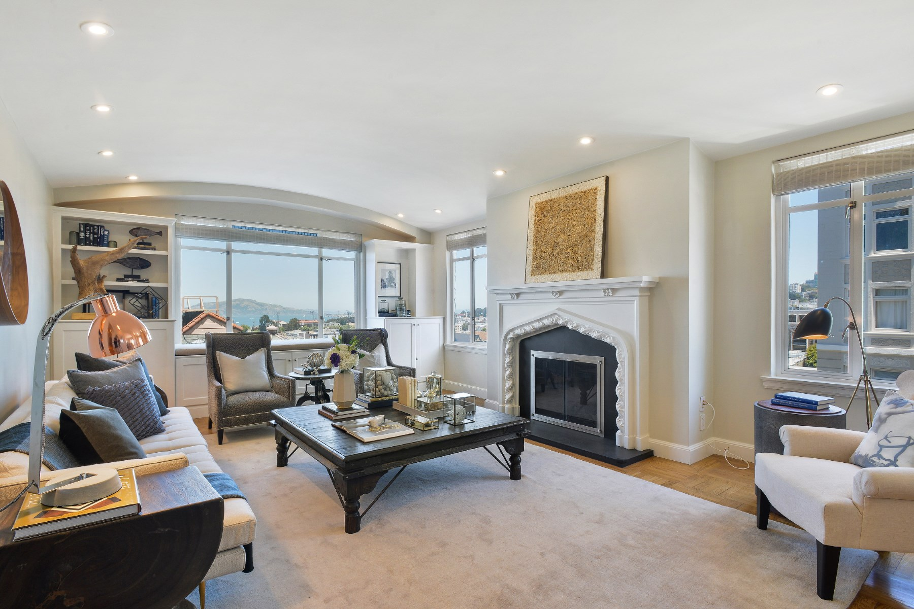 Co-op for Sale at Elegant Pacific Height Co-Op 2100 Green St Apt 204 Pacific Heights, San Francisco, California, 94123 United States