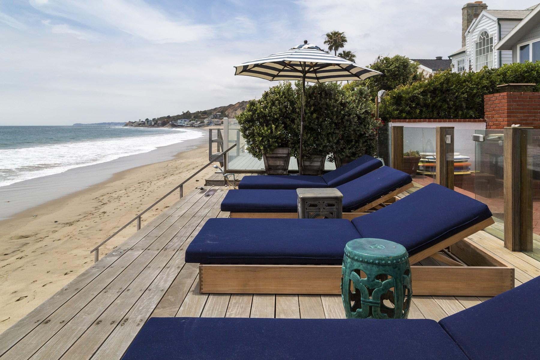 Частный односемейный дом для того Аренда на Malibu Colony Cottage 23664 Malibu Colony Rd Malibu, Калифорния, 90265 Соединенные Штаты