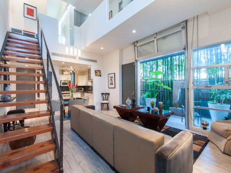 Property For Sale at Dramatic City Townhouse-Loft