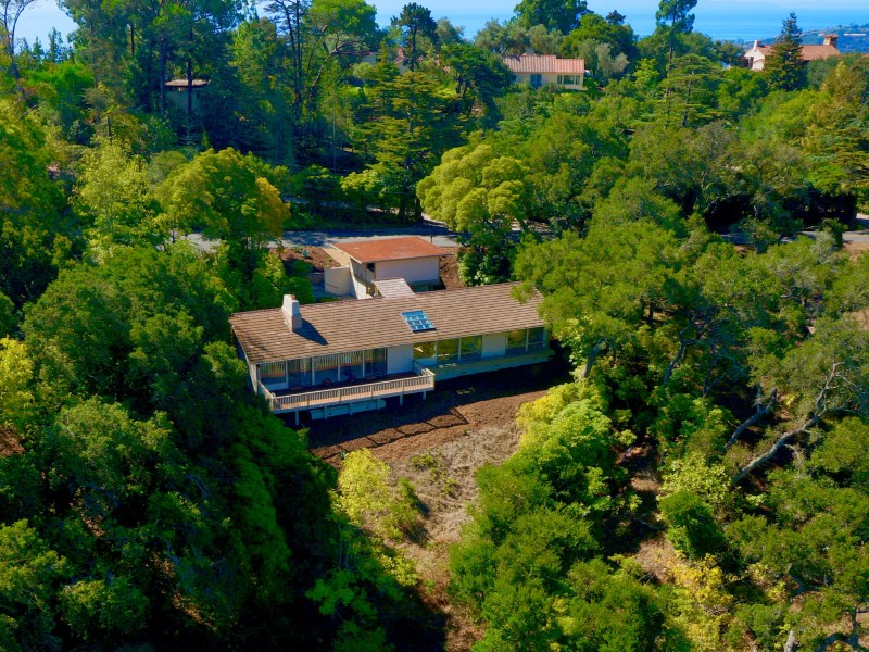 Property For Sale at Contemporary Home with Mountain Views on the Santa Barbara Riviera