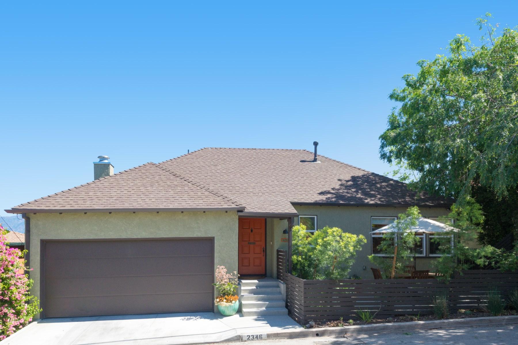 Single Family Home for Sale at 2346 Ronda Vista Drive Los Feliz, Los Angeles, California, 90027 United States