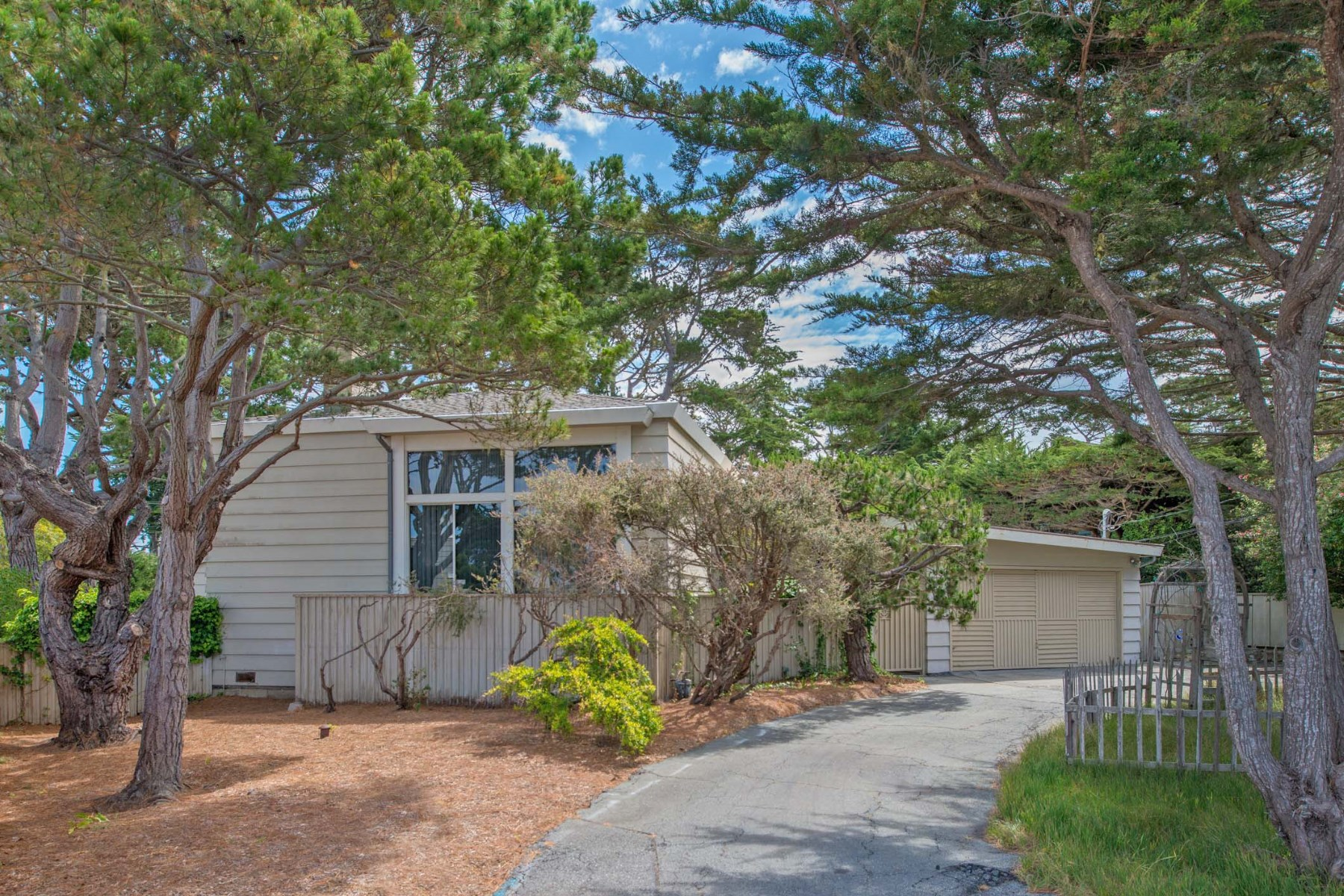 Single Family Home for Sale at Classic Vintage Beach House 971 Customs Road Pebble Beach, California, 93953 United States