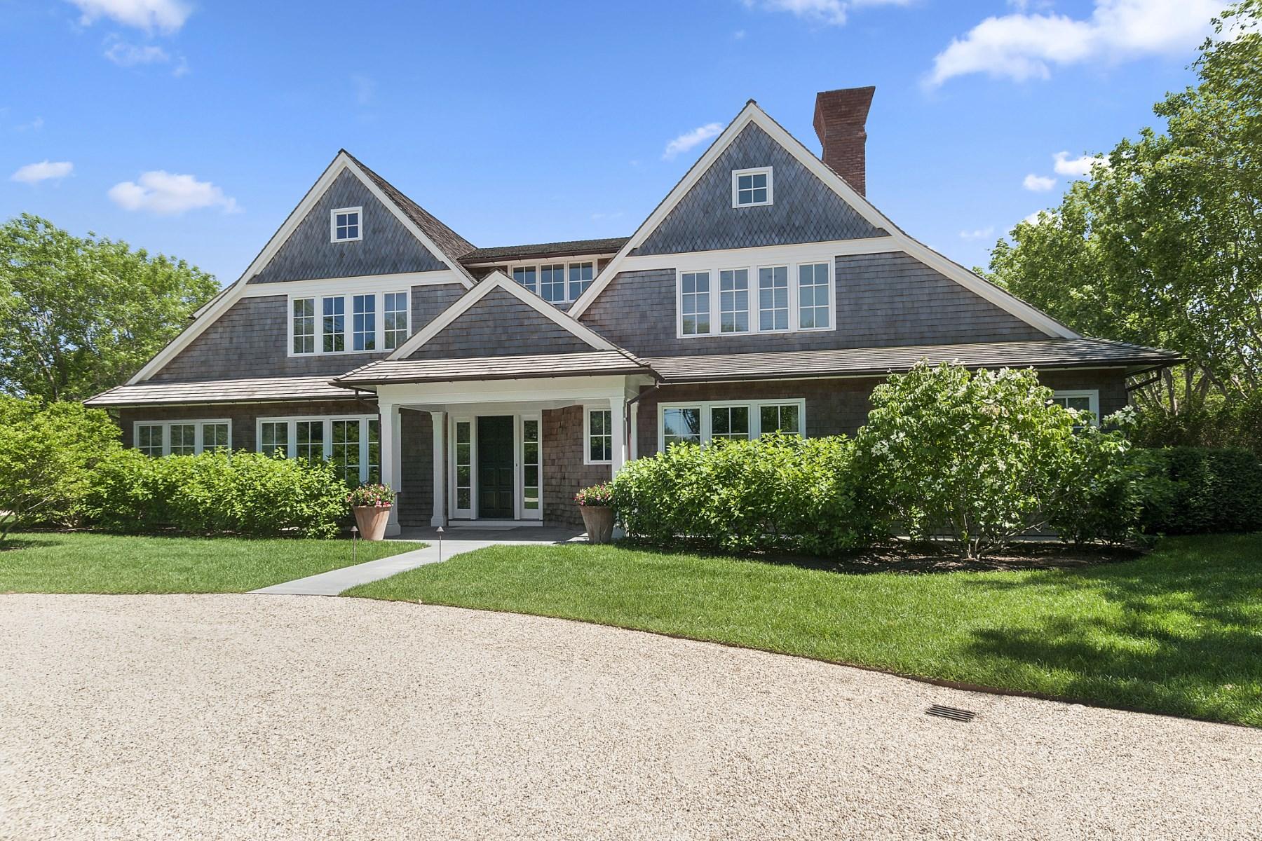Частный односемейный дом для того Аренда на New Dream Home in Sagaponack South Sagaponack, Нью-Йорк, 11962 Соединенные Штаты