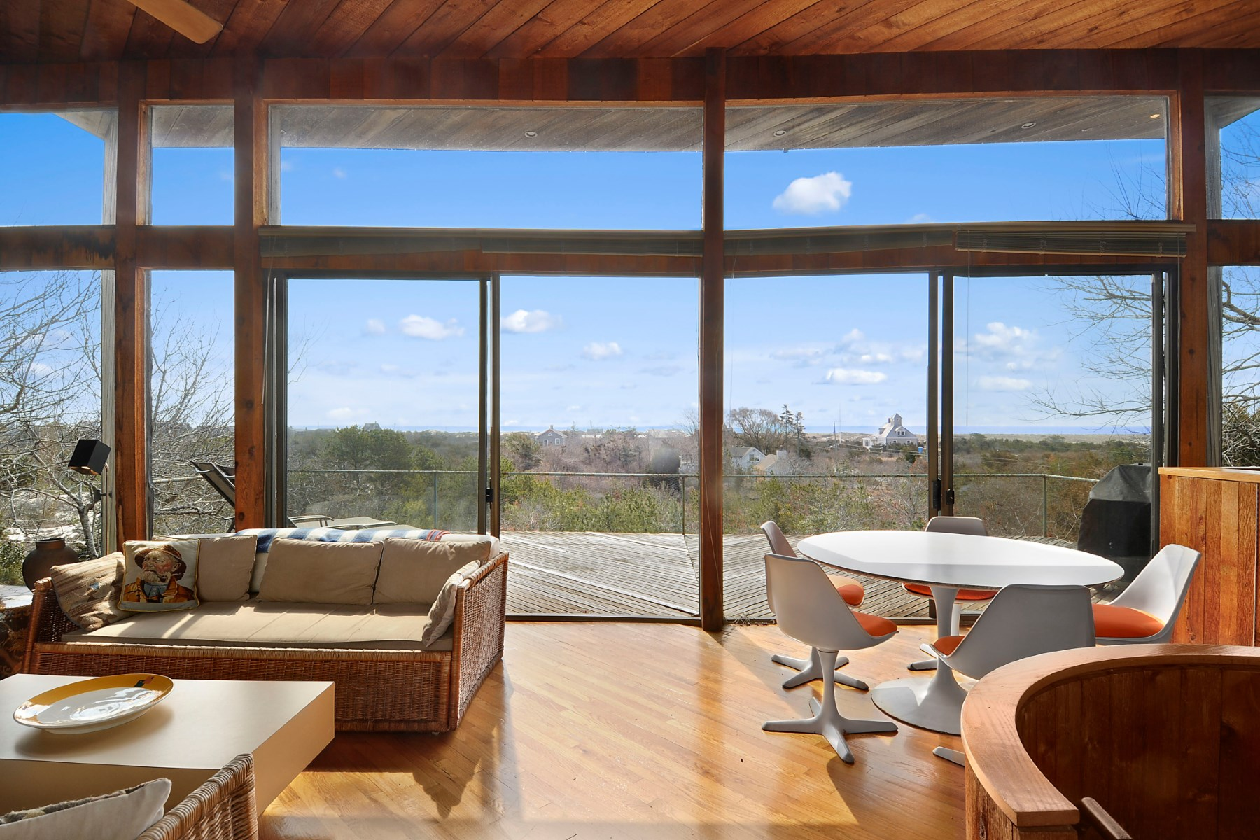 Single Family Home for Sale at Vintage Modern with Ocean Views Amagansett, New York 11930 United States