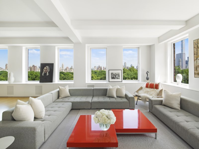 Cooperativa per Vendita alle ore Sprawling Central Park Residence 101 Central Park West Apt 9bc Upper West Side, New York, New York 10023 Stati Uniti
