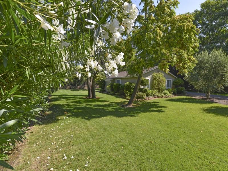 Casa para uma família para Venda às Country Cottage in a Park-Like Setting 450 Glass Mountain Rd St. Helena, Califórnia 94574 Estados Unidos