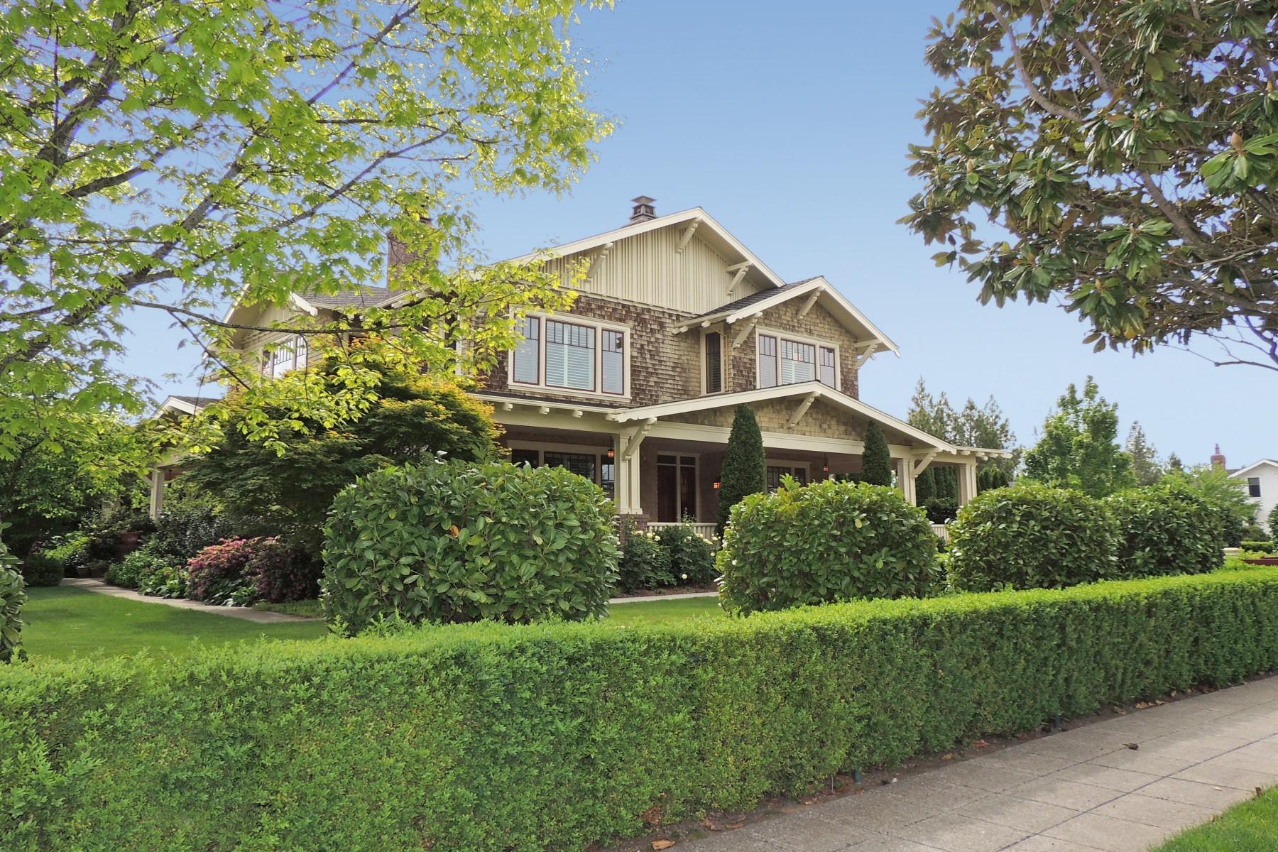 獨棟家庭住宅 為 出售 在 Eastside Sonoma Craftsman 502 Fifth Street East Sonoma, 加利福尼亞州 95476 美國