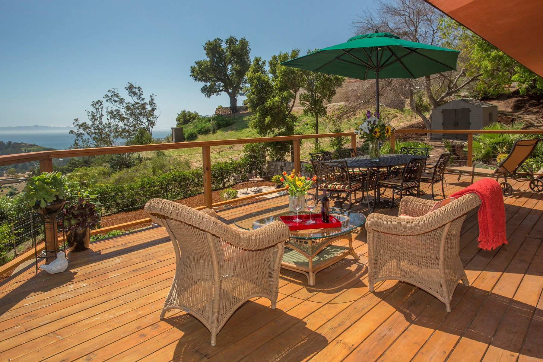Single Family Home for Sale at Montecito Ocean Views 12 West Mountain Drive Montecito - Upper Village, Montecito, California 93108 United States