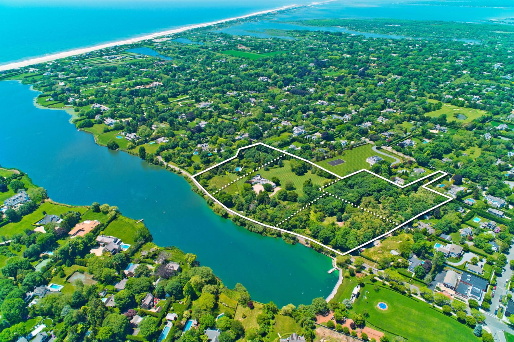 Property Of Overlooking Lake Agawam