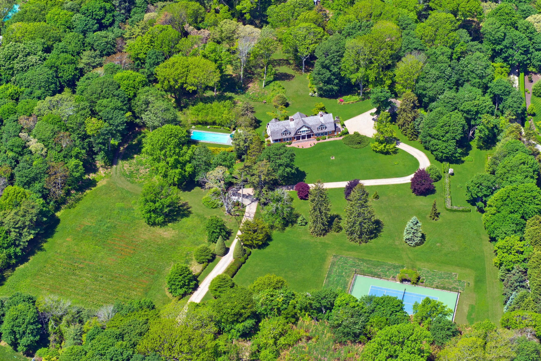 Single Family Home for Sale at Magnificent Pastoral Estate East Hampton, New York 11937 United States