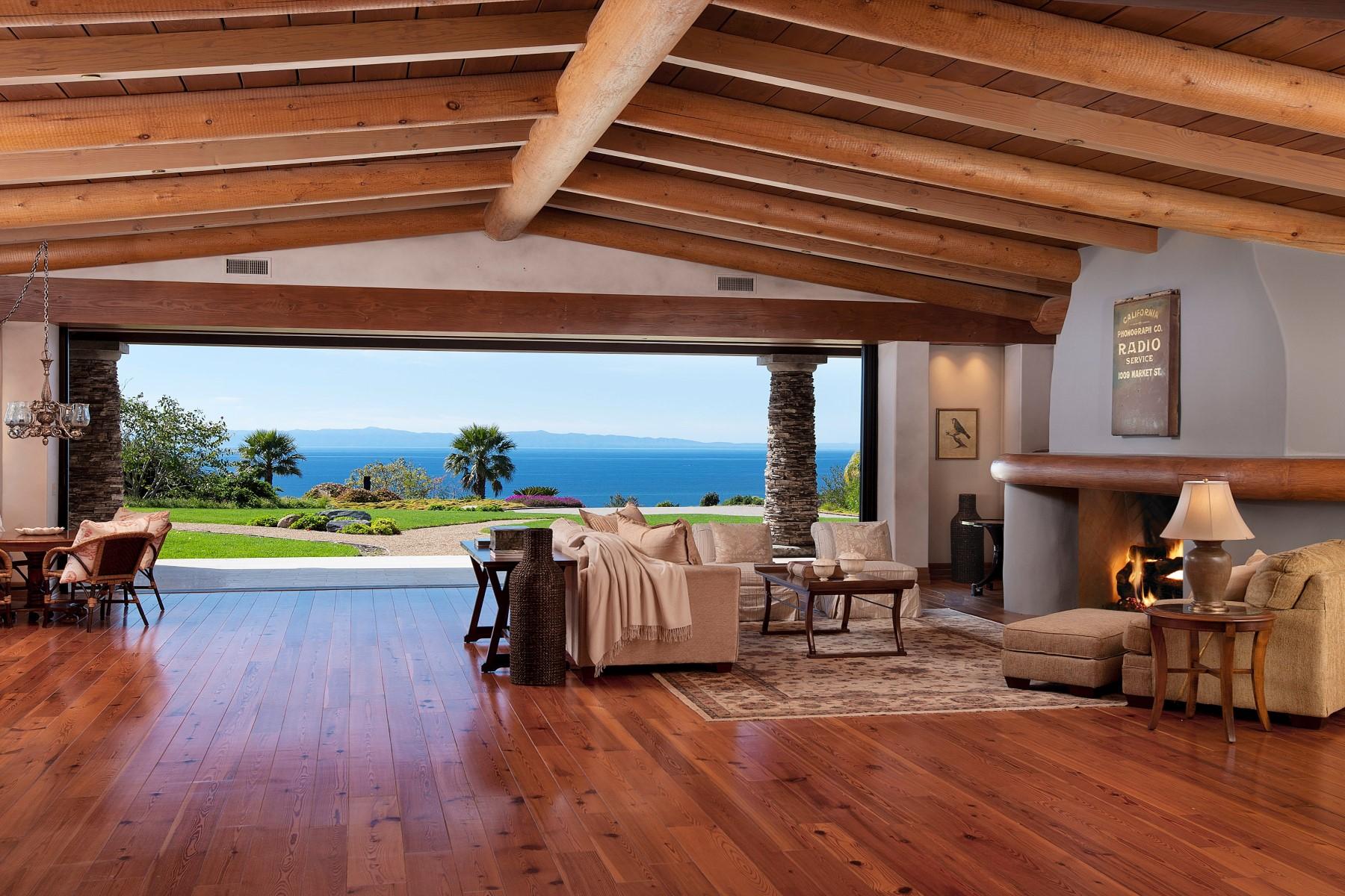 Single Family Home for Sale at Stunning Ocean and Mountain Views 2170 Ortega Ranch Lane Montecito - Upper Village, Santa Barbara, California 93108 United States
