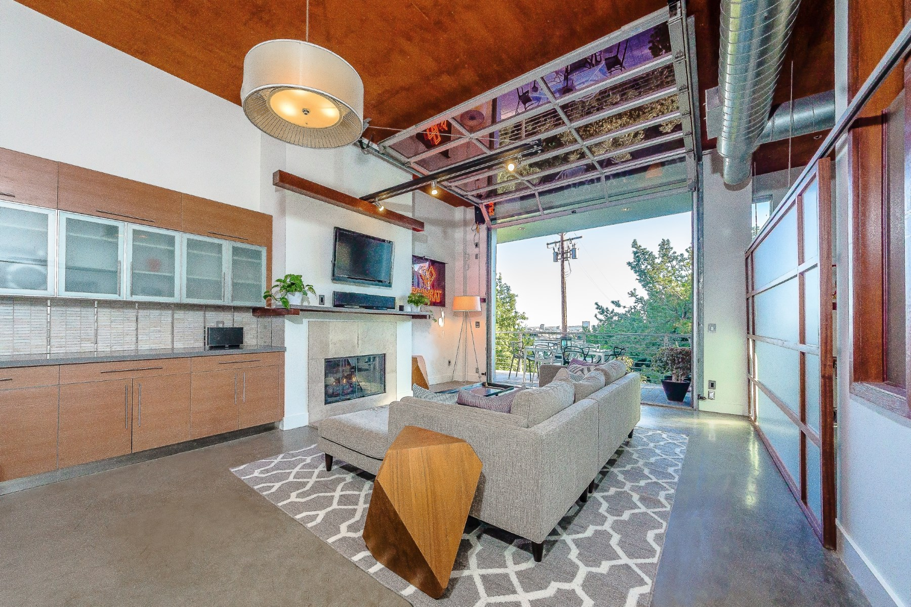 Condominium for Sale at Architectural Loft in West Hollywood 1152 North La Cienega Boulevard Unit 203 West Hollywood, West Hollywood, California 90069 United States