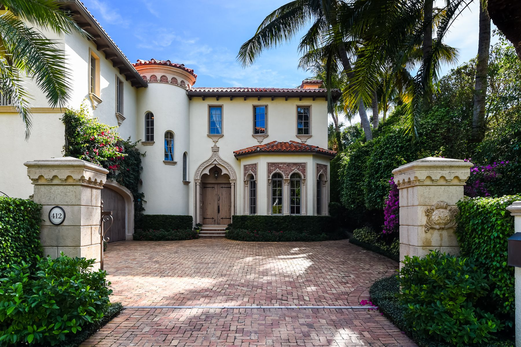 Single Family Home for Active at Beautiful In Town Residence 412 Australian Ave Palm Beach, Florida 33480 United States