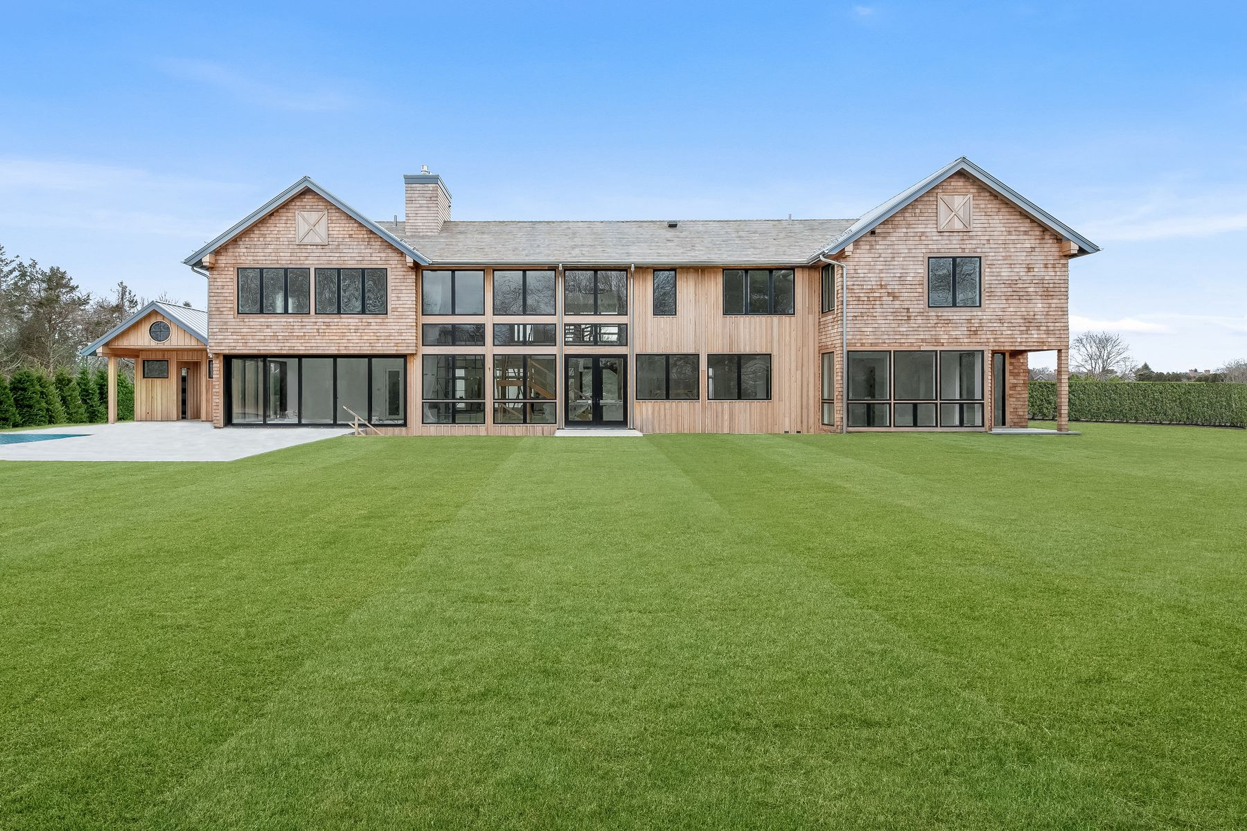 Single Family Home for Active at GORGEOUS NEW SOUTH-OF THE-HIGHWAY MODERN 90 Wild Goose Lane Water Mill, New York 11976 United States