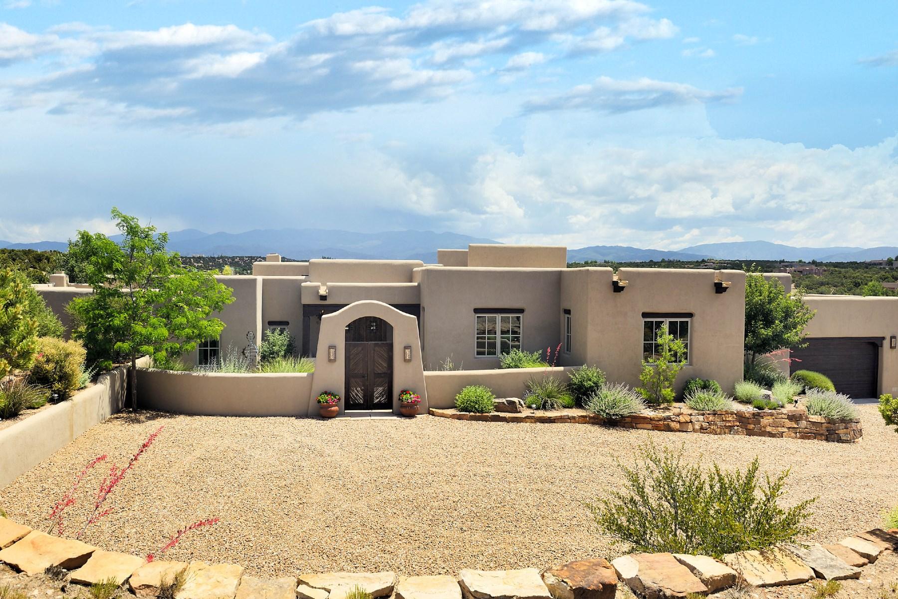Maison unifamiliale pour l Vente à 62 Star Dancer Trail Santa Fe, New Mexico, 87506 États-Unis