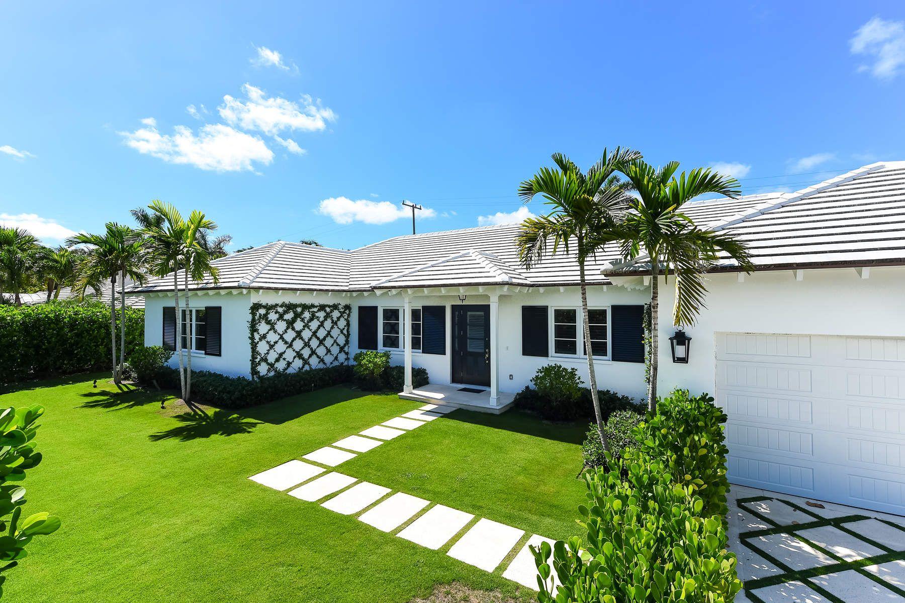 Single Family Home for Sale at 226 Via Linda 226 Via Linda Palm Beach, Florida 33480 United States
