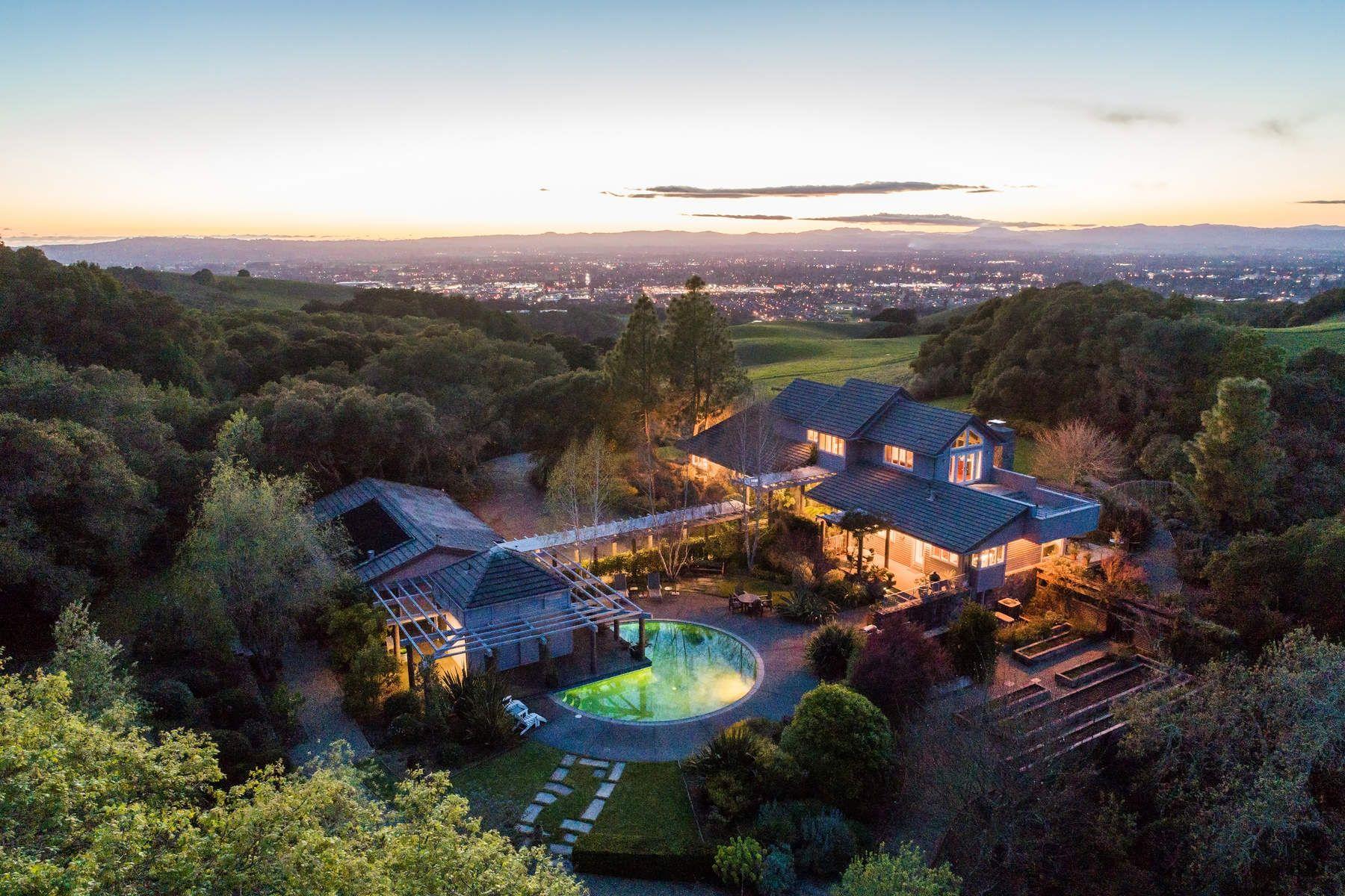一戸建て のために 売買 アット Enchanting Country Home 4522 Bennett Valley Rd, Santa Rosa, カリフォルニア, 95404 アメリカ合衆国