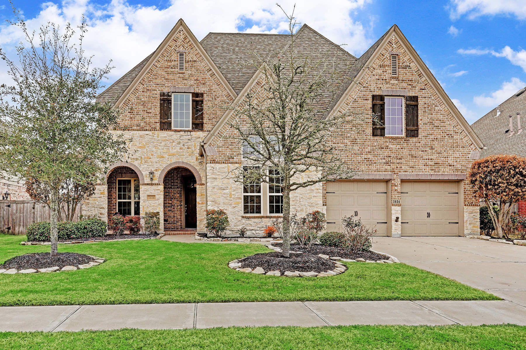 Частный односемейный дом для того Продажа на 2634 Joshua Tree Lane Manvel, Техас, 77578 Соединенные Штаты