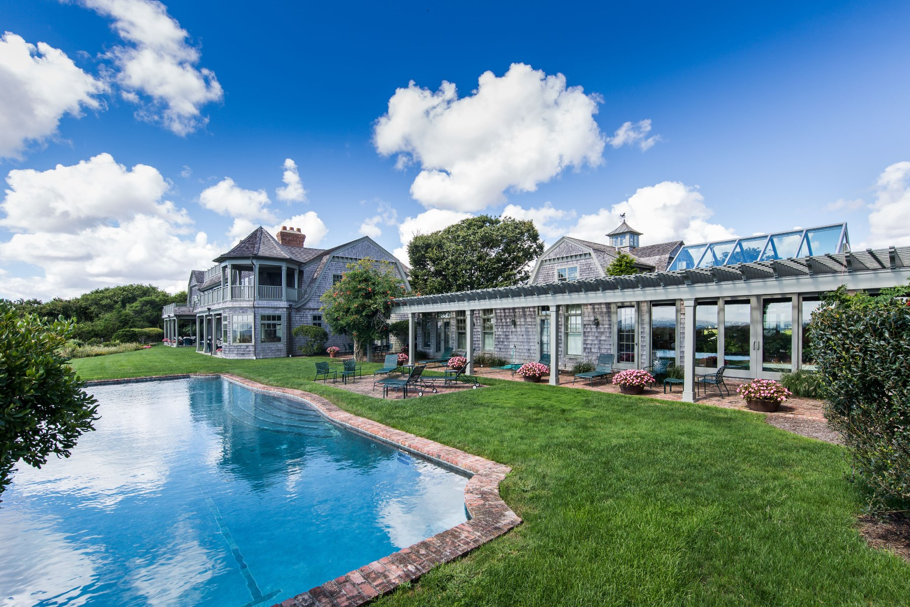 Single Family Home for Rent at Stunning East Hampton Oceanfront Retreat East Hampton, New York 11937 United States