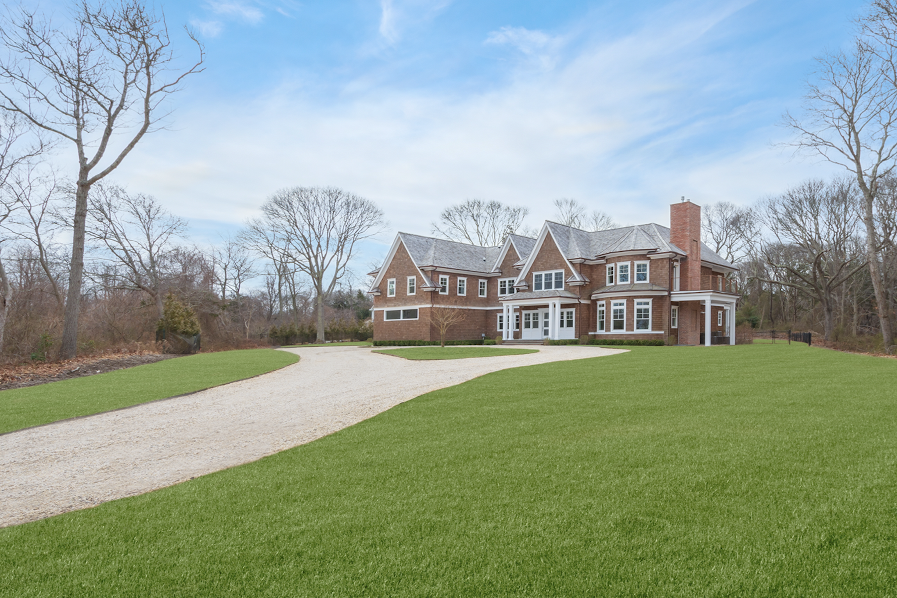 Single Family Home for Active at New Construction Across From Bay 9 Seaponack Drive Sag Harbor, New York 11963 United States