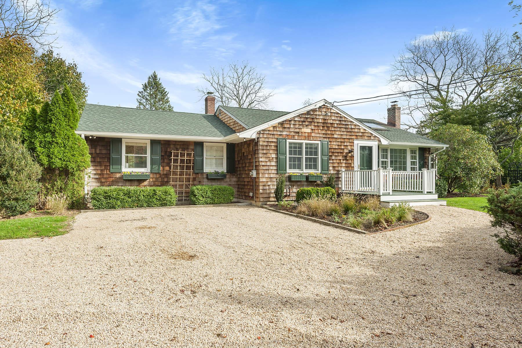 獨棟家庭住宅 為 出售 在 Water Mill South Newly Renovated 158 Cobb Road, Water Mill, 紐約州, 11976 美國
