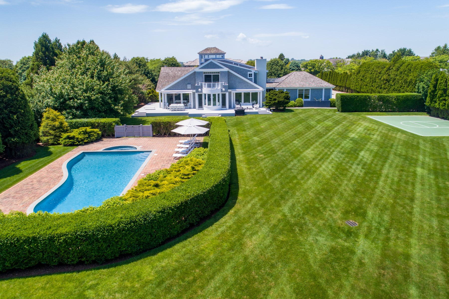 Single Family Home for Sale at Immaculate Sagaponack South Beach House 182 Ericas Lane Sagaponack, New York 11962 United States