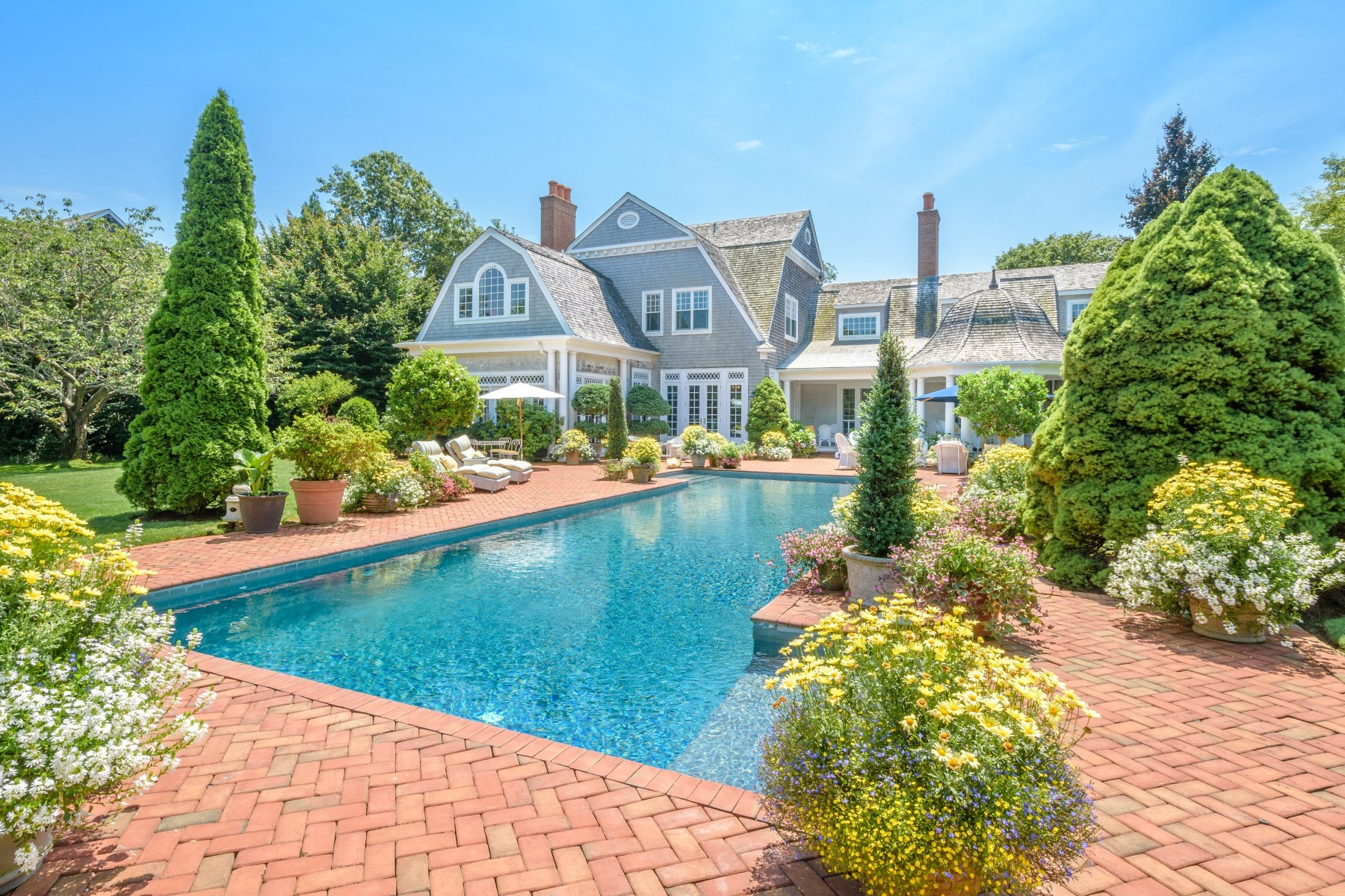 Single Family Home for Sale at Legendary Gin Lane 237 Gin Lane Southampton Estate Section, Southampton, New York, 11968 United States