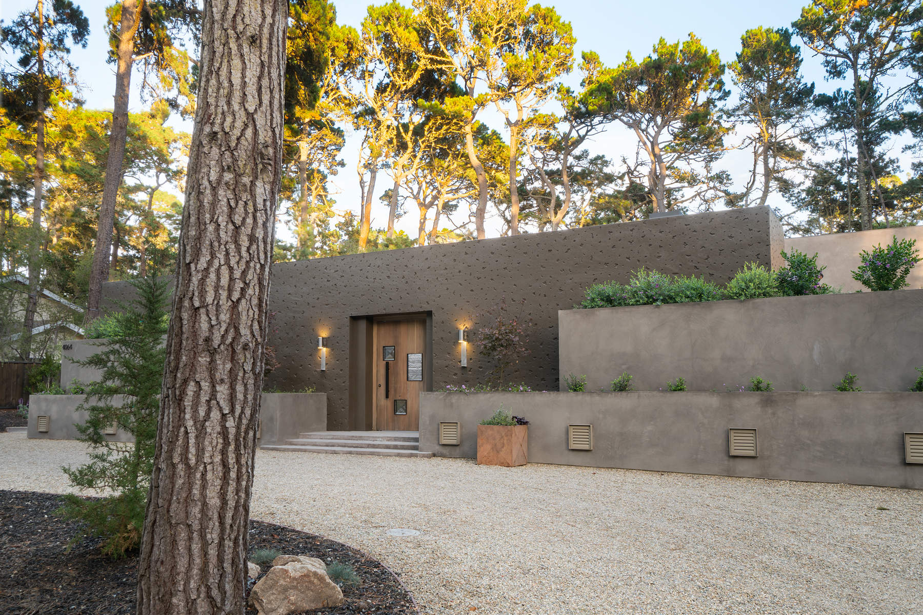 Moradia para Venda às Contemporary Del Monte Forest Estate 4064 Ronda Road, Pebble Beach, Califórnia, 93953 Estados Unidos