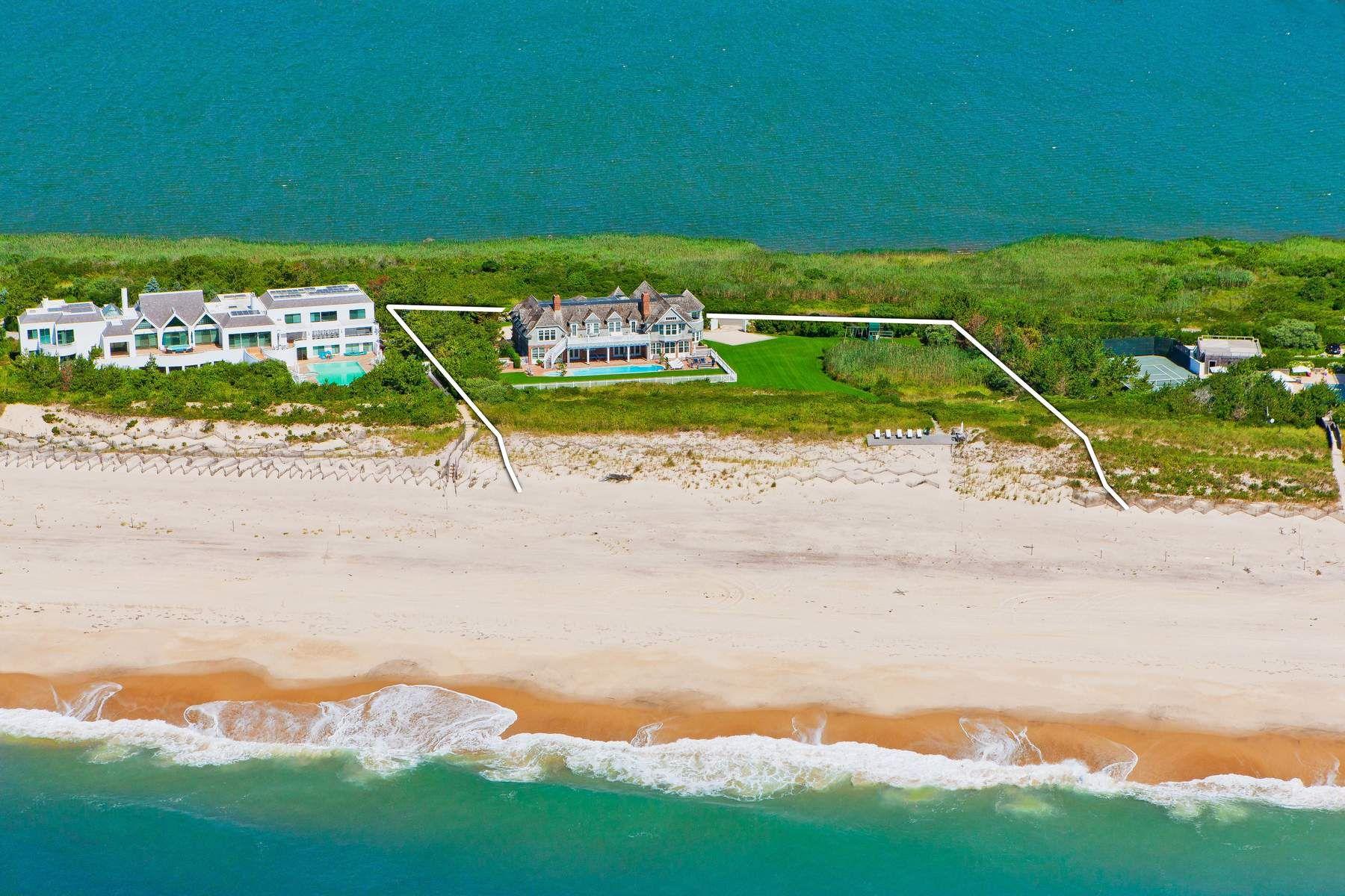 Maison unifamiliale pour l à louer à Magnificent Bridgehampton Oceanfront Bridgehampton, New York 11932 États-Unis