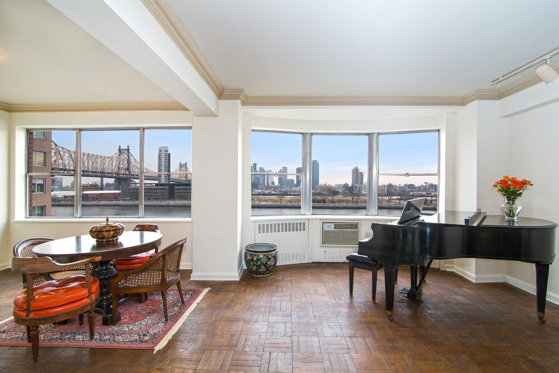Co-op for Sale at Gracious 2 BR w/ Captivating River Views 25 Sutton Place South Apt 5M, Sutton Place, New York, New York, 10022 United States