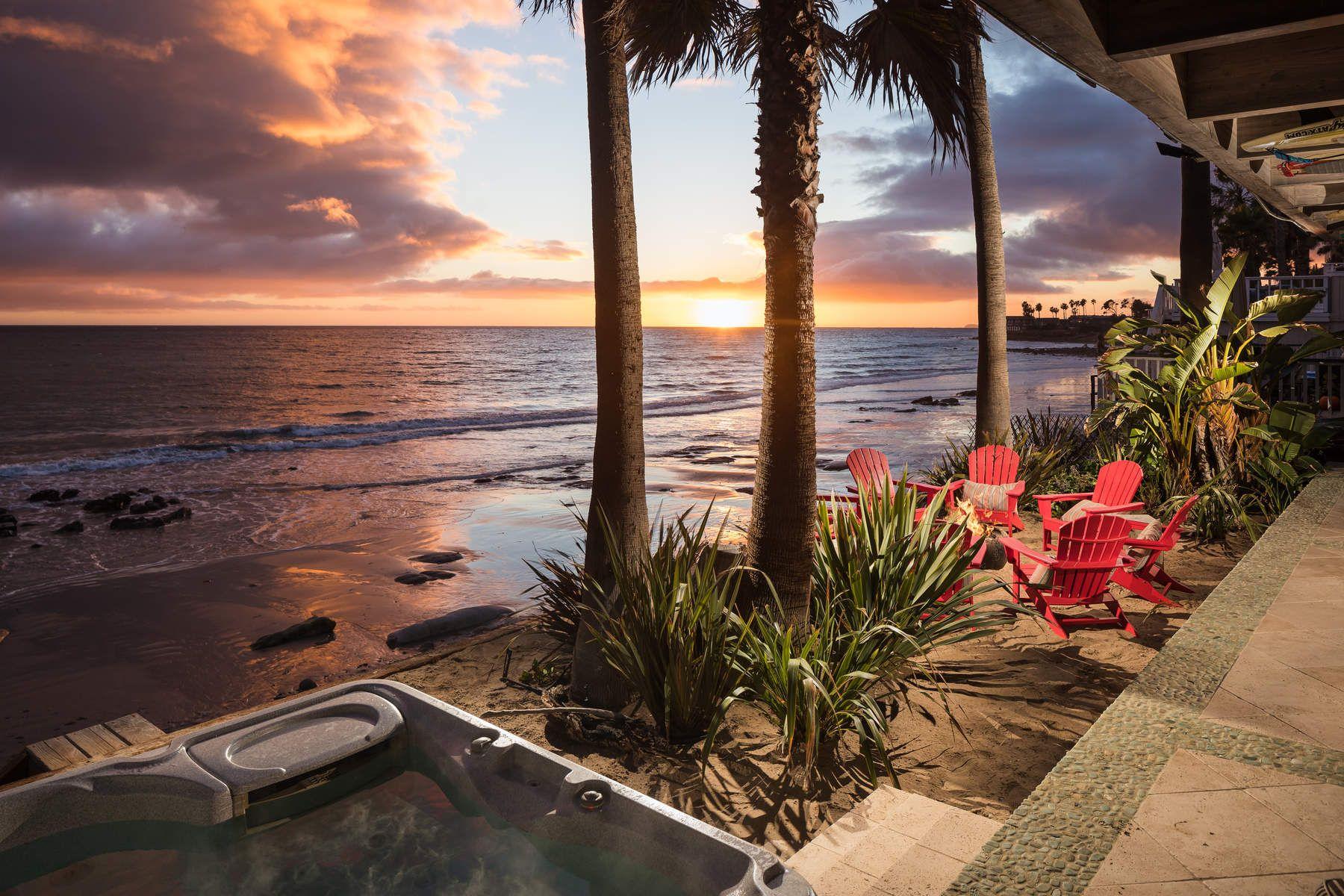 Einfamilienhaus für Verkauf beim Malibu Beach Front Luxury Home 20906 Pacific Coast Highway Malibu, Kalifornien 90265 Vereinigte Staaten