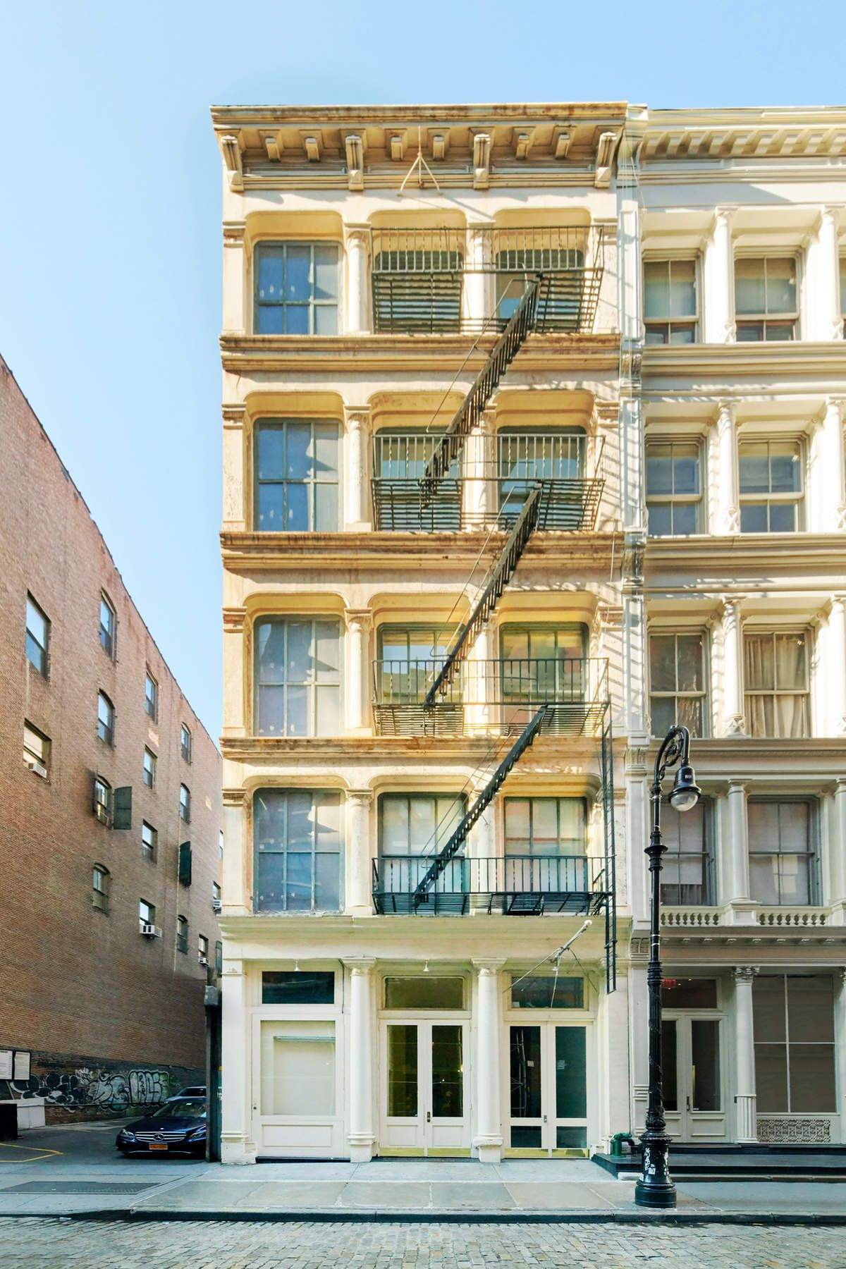 Condominium for Sale at Cast Iron Classic in SOHO 83 Mercer Street Commercial Unit New York, New York 10012 United States