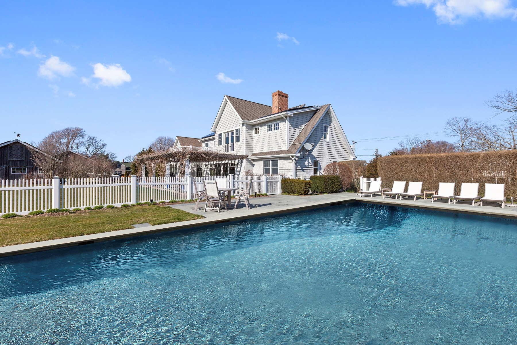 Single Family Home for Rent at Farm Field Views- Peaceful & Central 124 Blank Lane Water Mill, New York 11976 United States