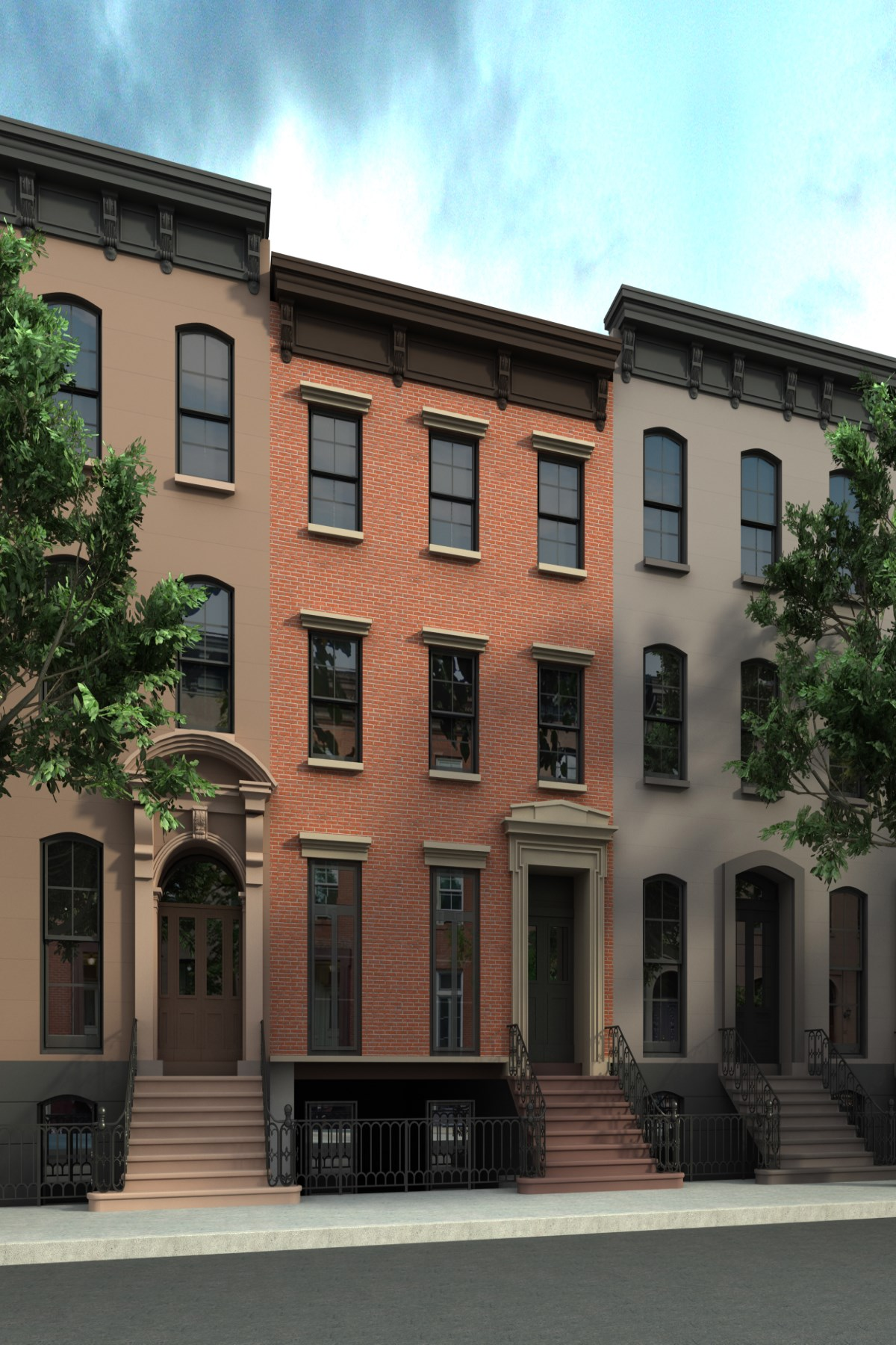 Casa unifamiliar adosada (Townhouse) por un Venta en 353 West 20th Street Chelsea, New York, Nueva York, 10011 Estados Unidos