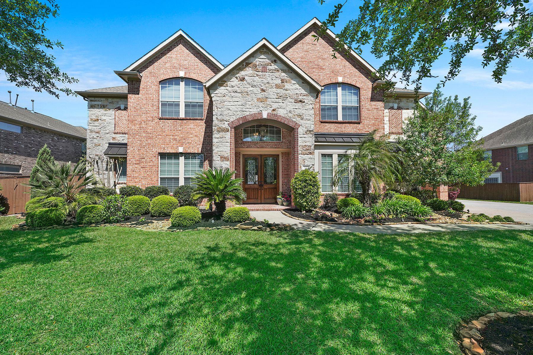 Single Family Homes 용 매매 에 Friendswood, 텍사스 77546 미국