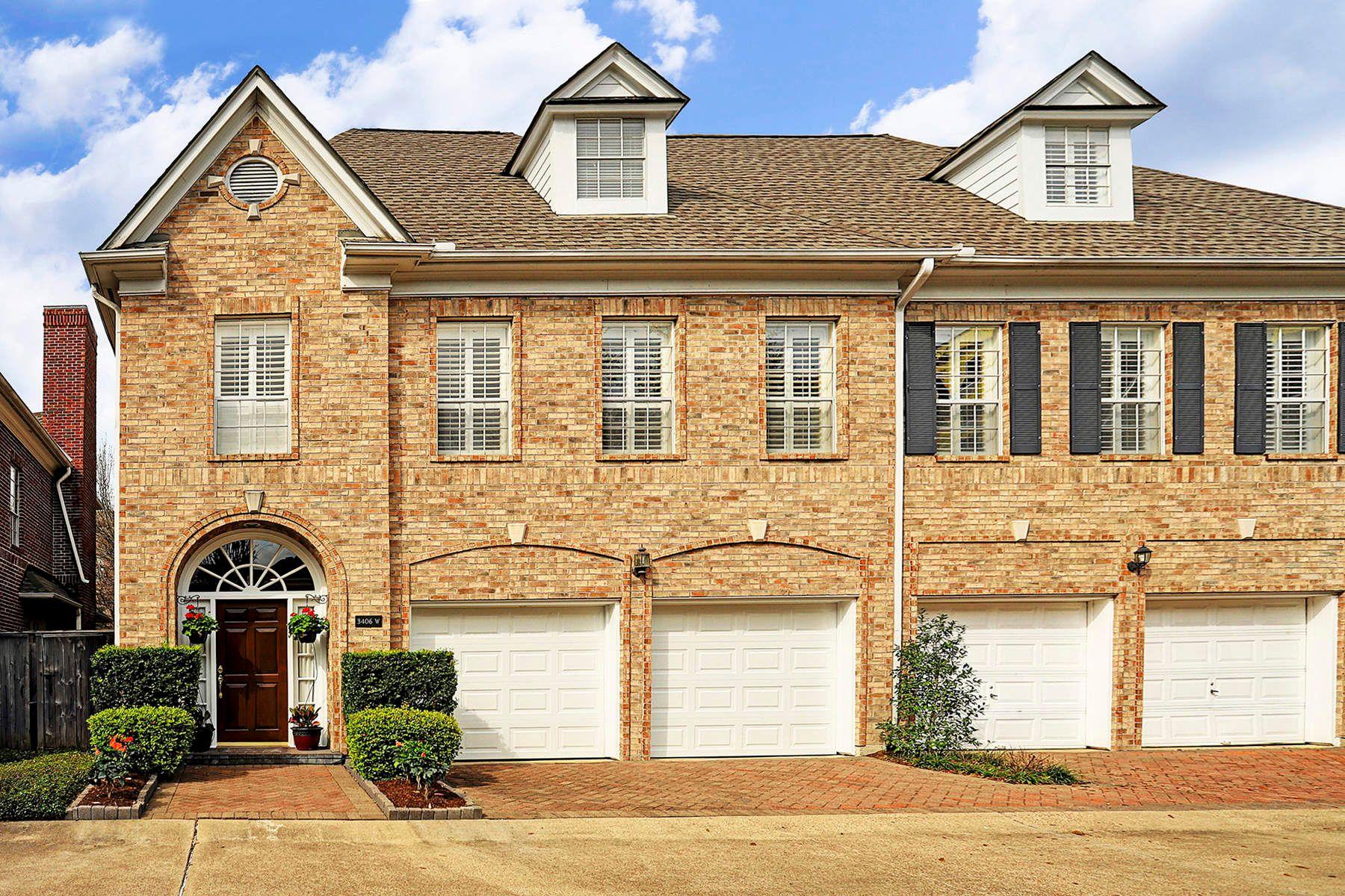 타운하우스 용 매매 에 3406 Sagecircle Houston, 텍사스, 77056 미국