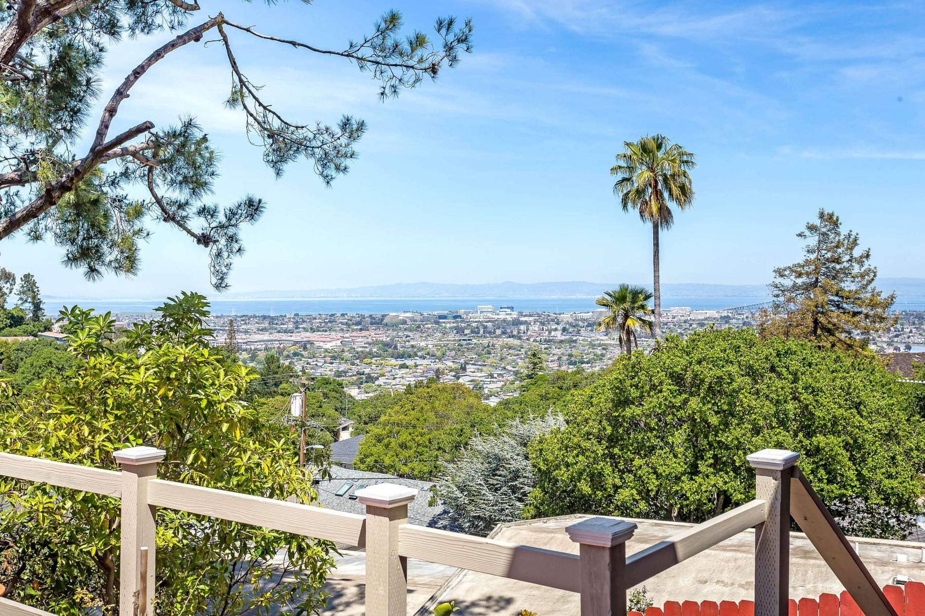Single Family Home for Active at Belmont Home with Panoramic Bay Views 1805 Oak Knoll Dr Belmont, California 94002 United States
